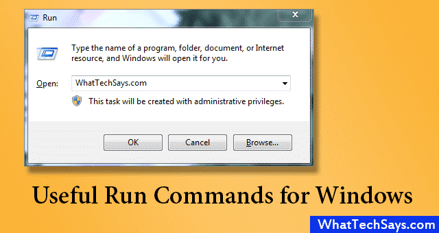 Useful Run Command