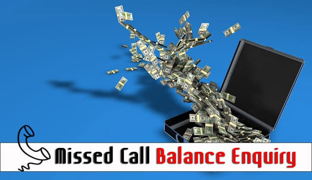 Missed Call Balance Enquiry for All Banks in India