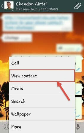 Whatsapp contact photo as your phone's contact photo