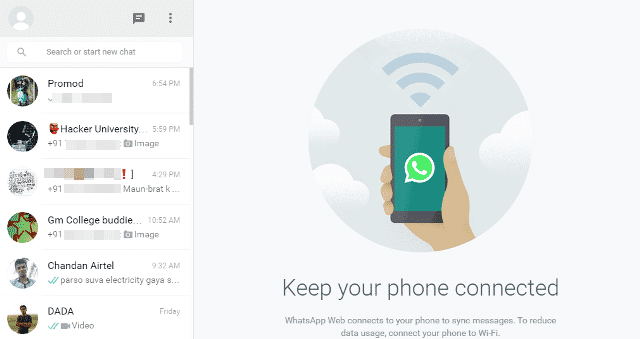 Whatsapp tricks to switch in chrome