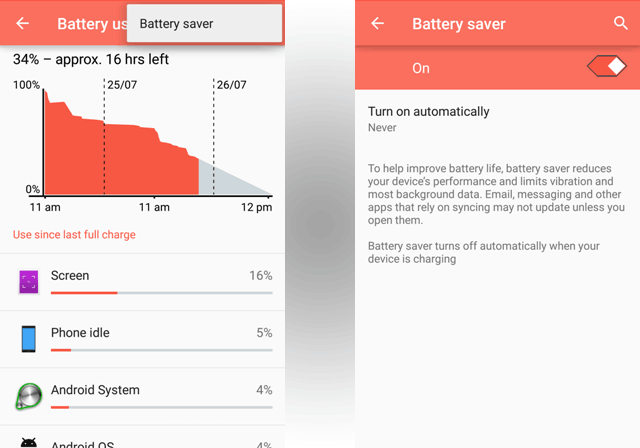 Extend Android Battery Life