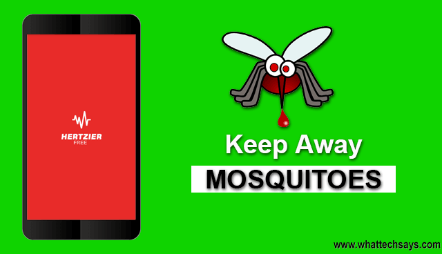 Keep Away Mosquitoes, Dogs with Android