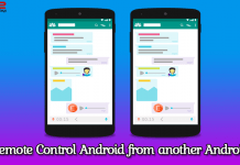 remote control Android from Android