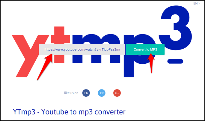 Download MP3 Files From YouTube