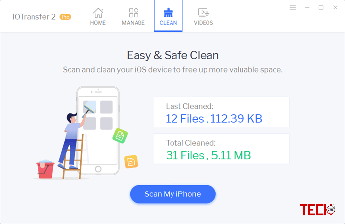 IOTransfer 3 Pro Cleaner