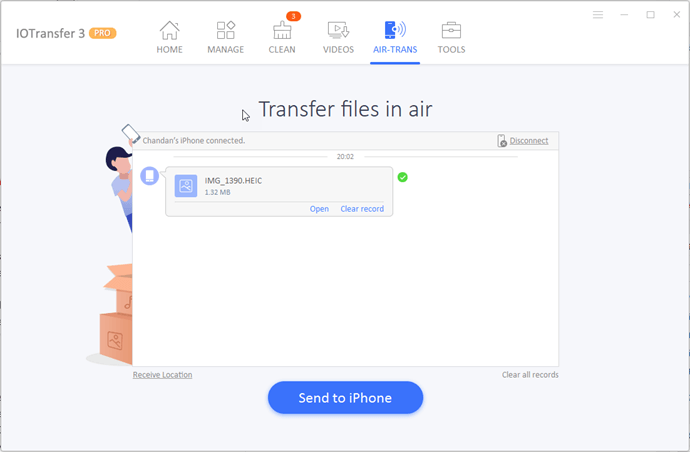 AirTrans - Wireless Transfer