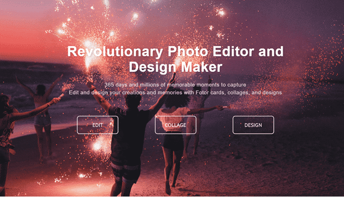 fotor photo editor online