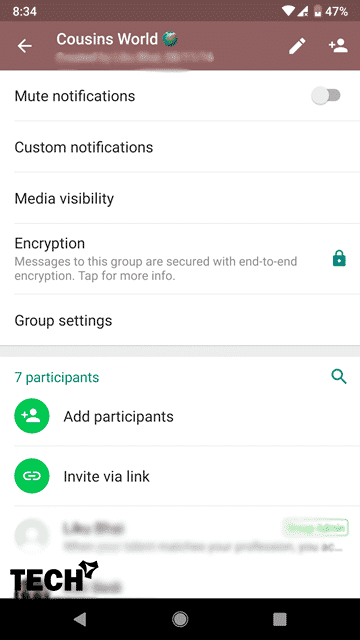 Allow Only Admins to Send Group Messages